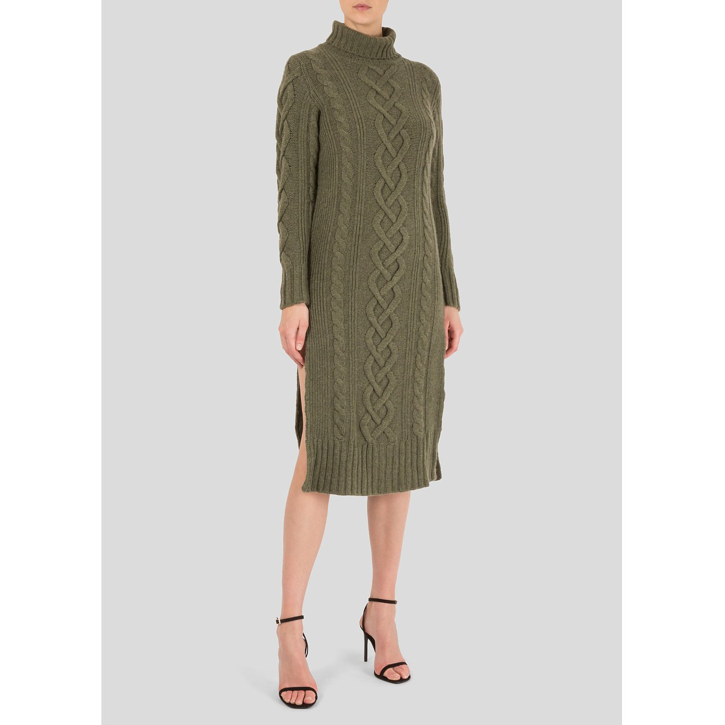 Christopher Kane Cable Knit Sweater Dress