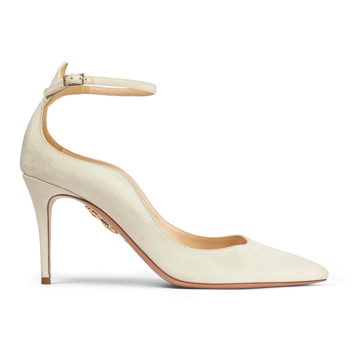 Aquazzura Stiletto Heels with Ankle Strap