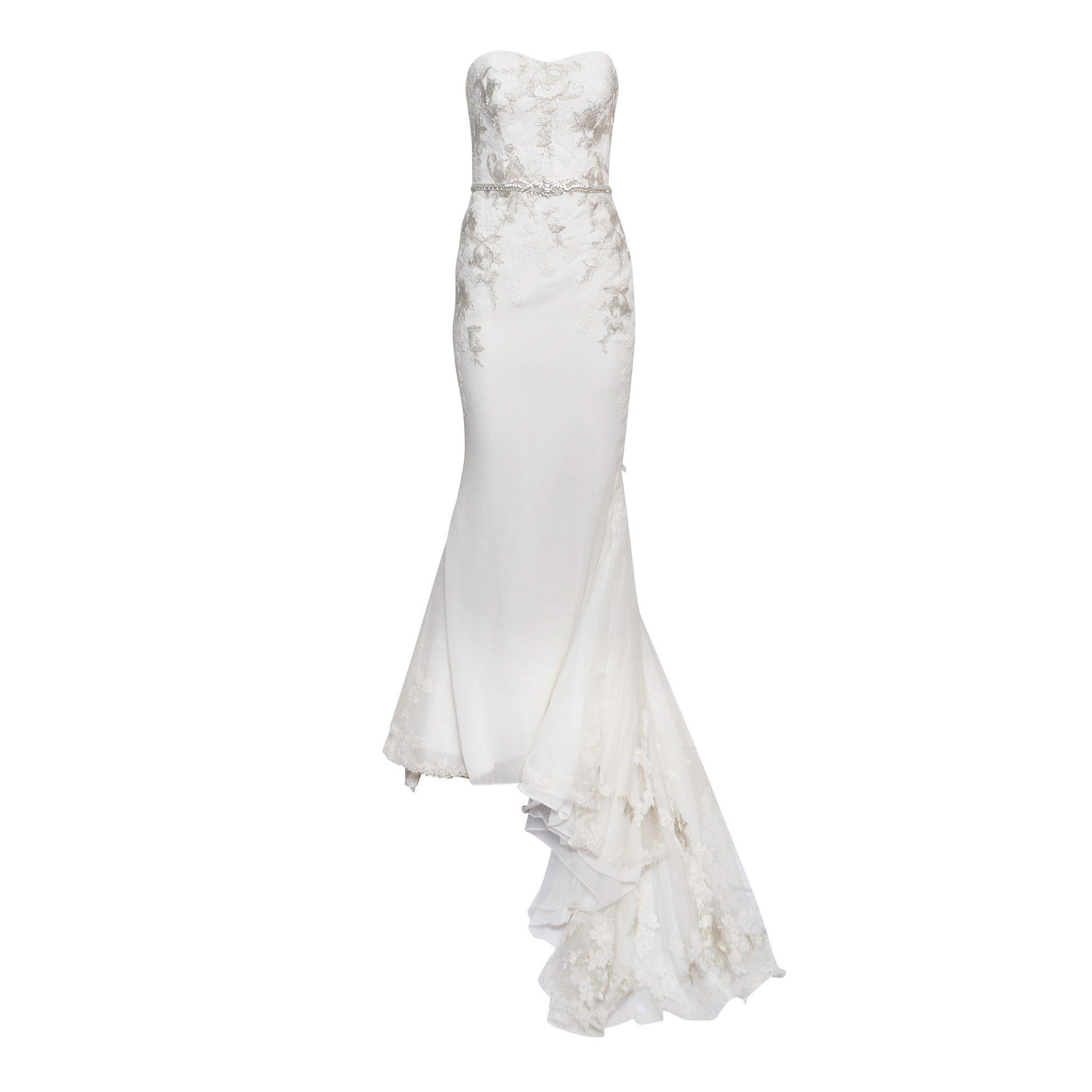 Enzoani Silk Wedding Gown