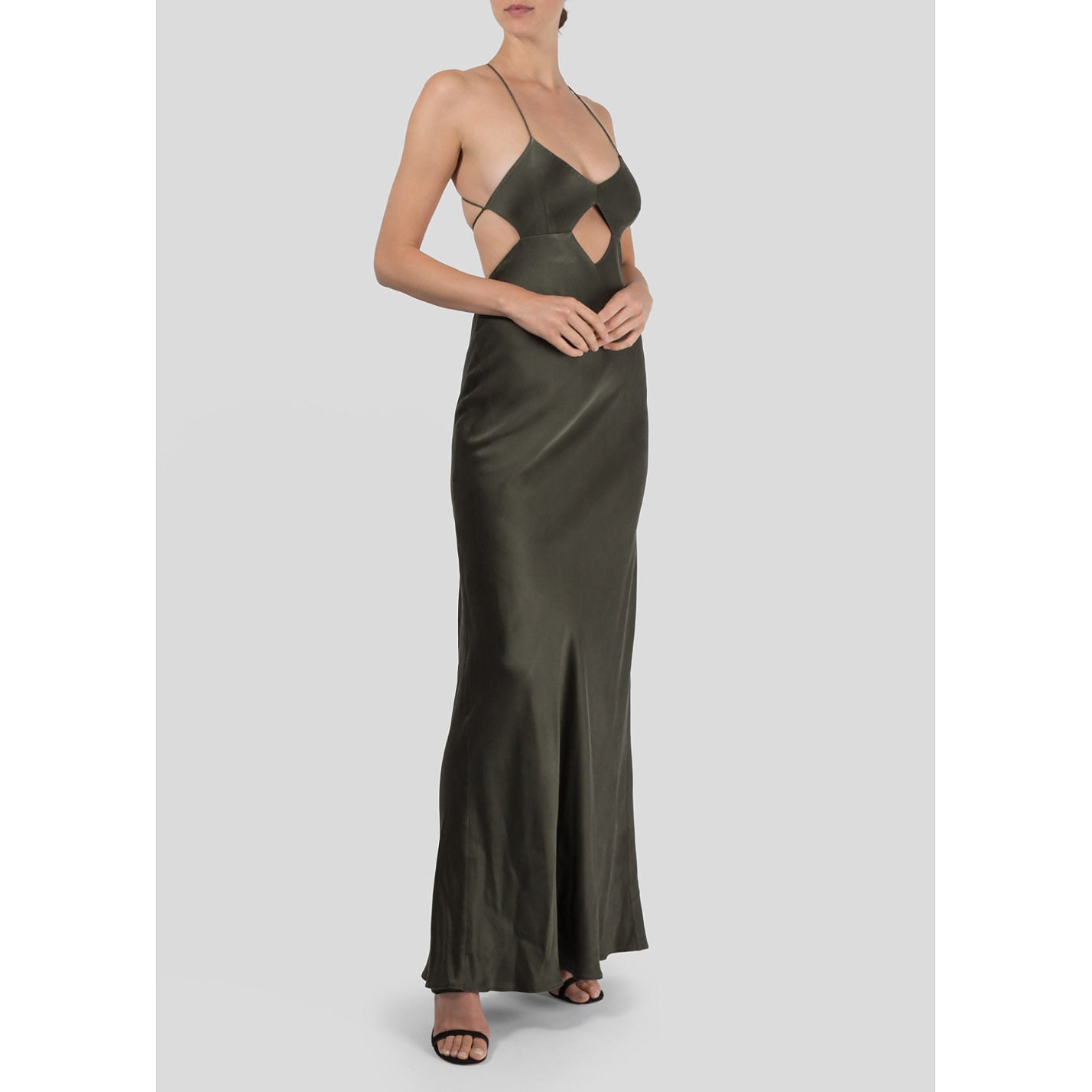 Michelle Mason Backless Gown