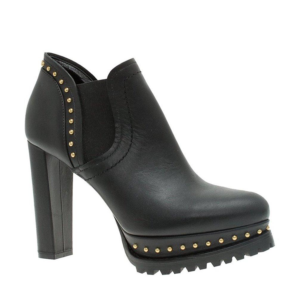Alexander McQueen Studded Platform Chelsea Ankle Boots