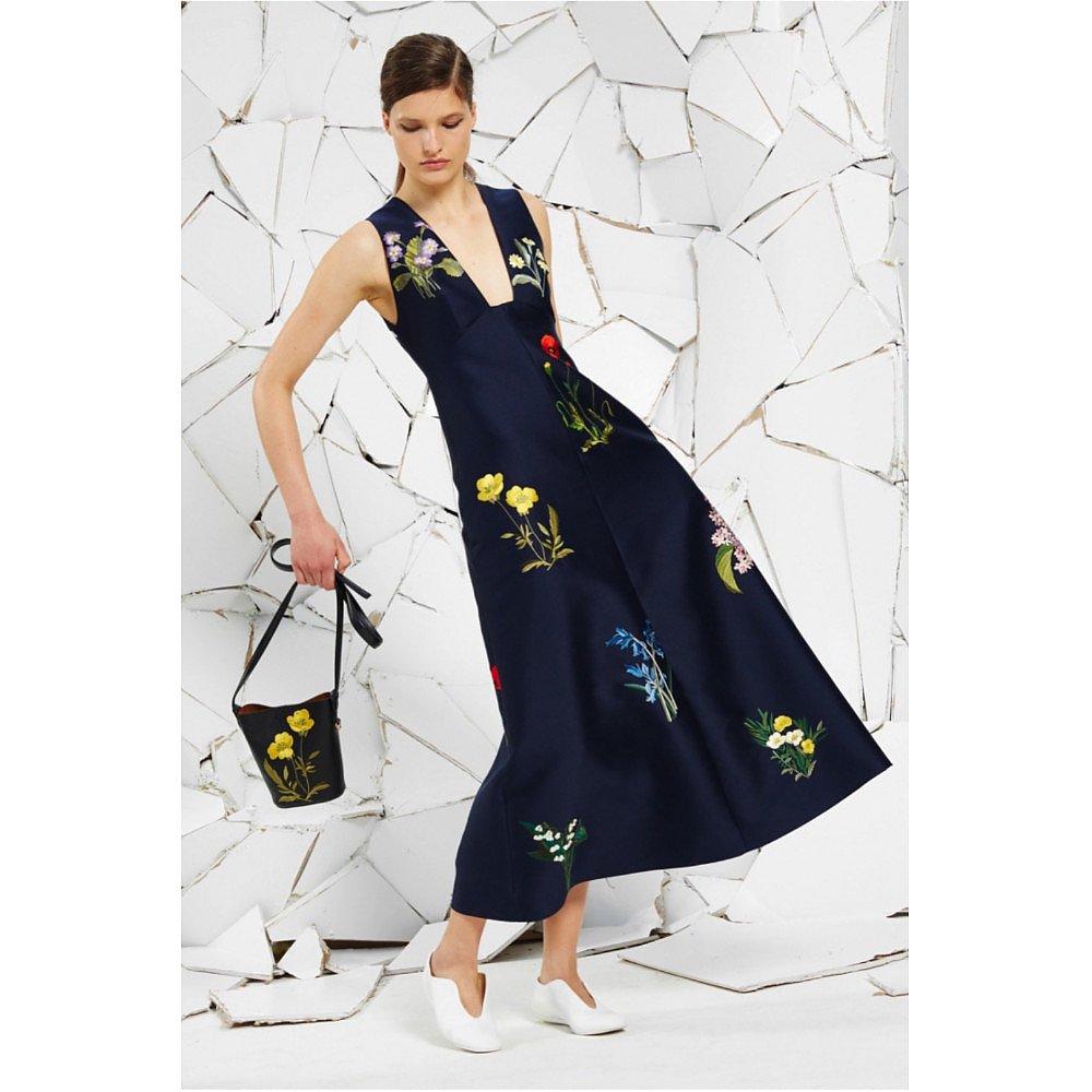 Stella McCartney Kaitlyn Floral Embroidery Dress