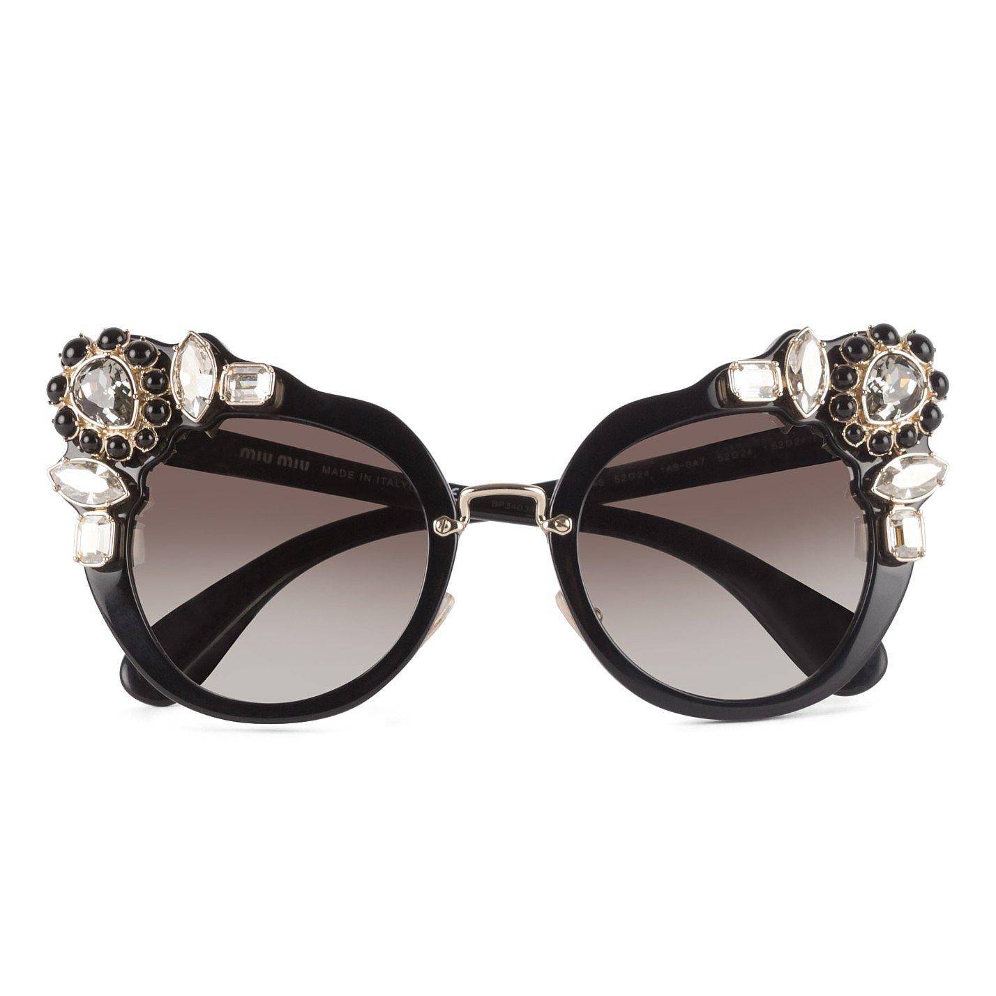 Miu Miu Jewelled Sunglasses