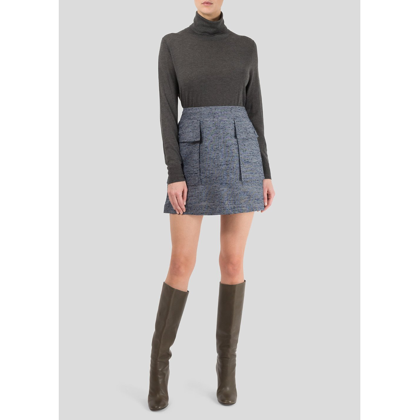 Stella McCartney Textured Mini Skirt