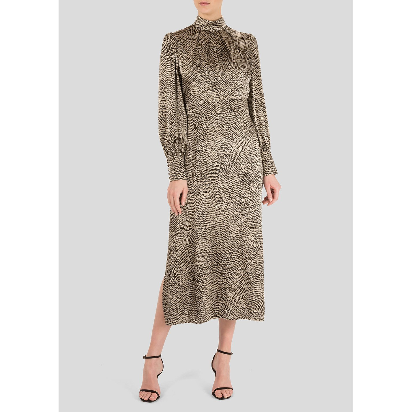 Miranda Dunn Saskia Snake Print Dress