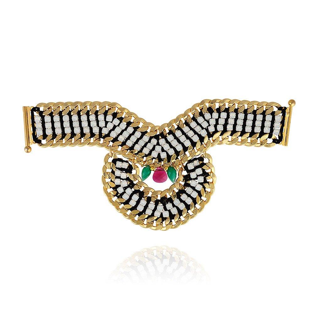 Akong White Opal Deco V Bracelet