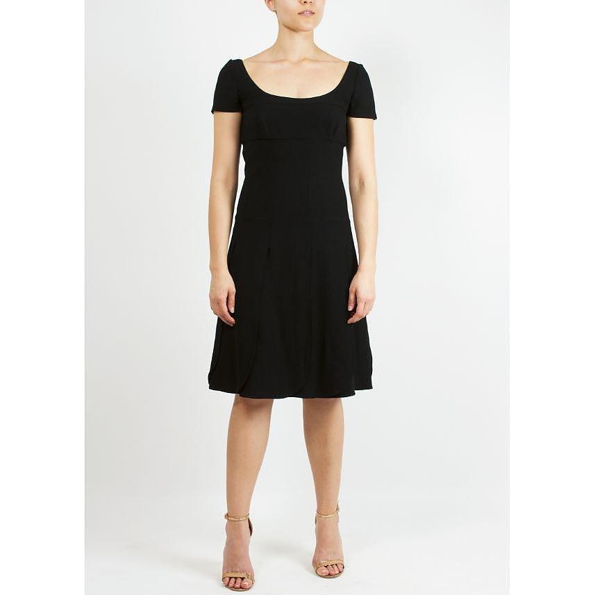 Valentino Scoop Neck A Line Dress
