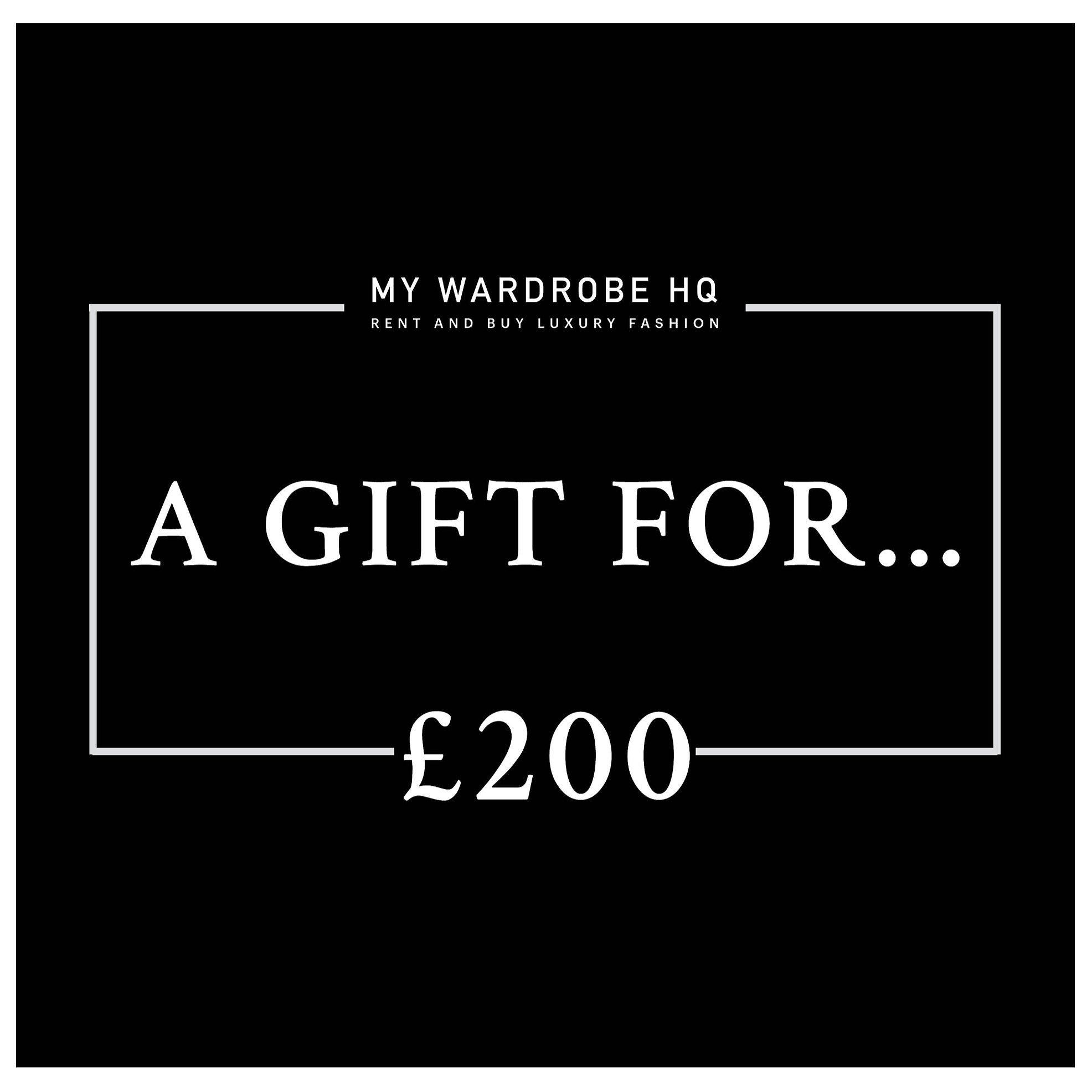 Voucher £200 gift voucher