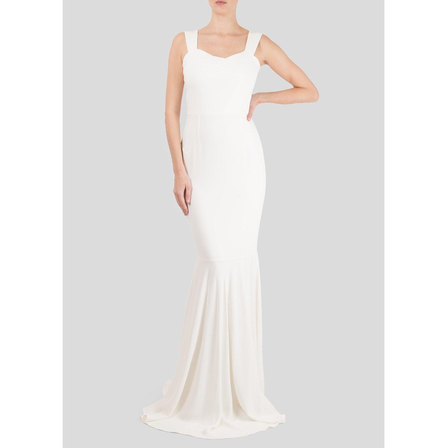 Roland Mouret Orpheus Stretch-Crepe Wedding Gown