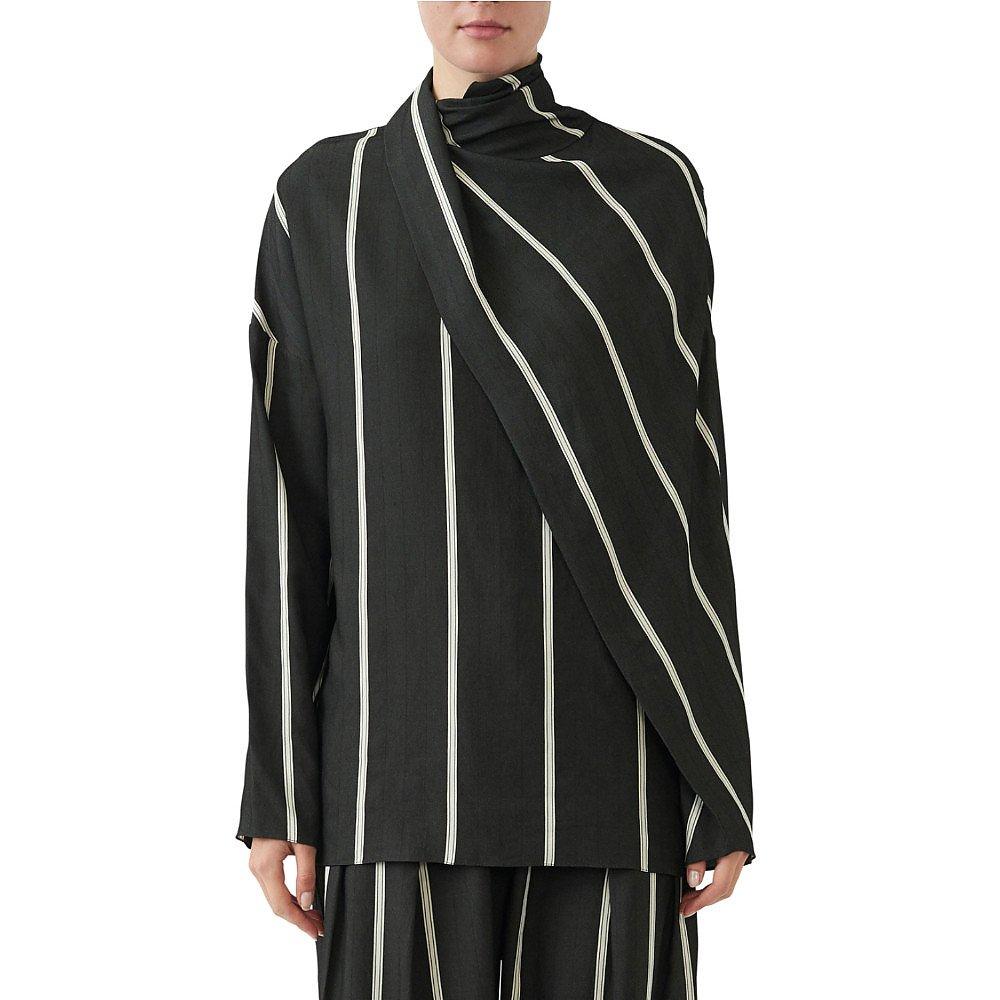 Noon By Noor Westport Herringbone Striped Shirt