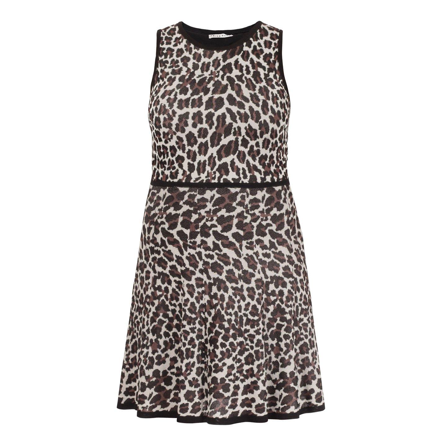 Trina Turk Huxley Leopard Print Dress