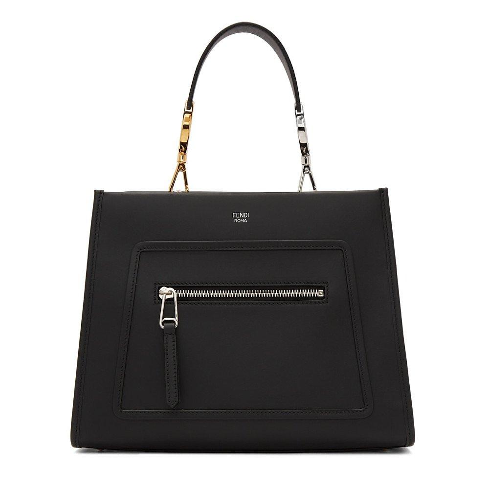 Fendi Leather Roma Handbag