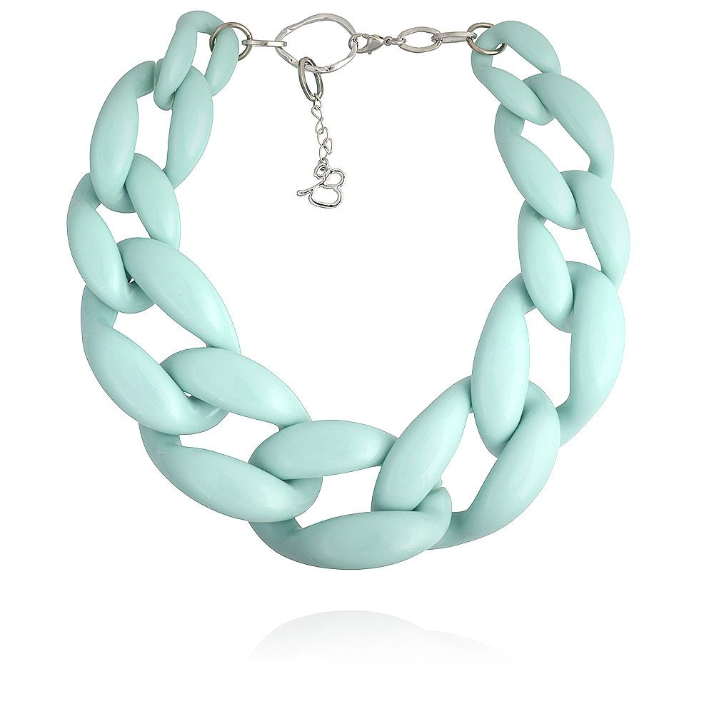 Diana Broussard Nate Necklace In Mint