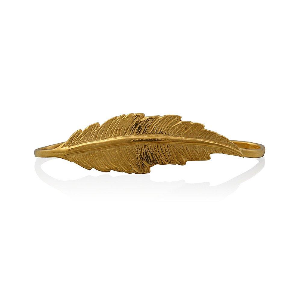 LeiVanKash Feather Hand Cuff