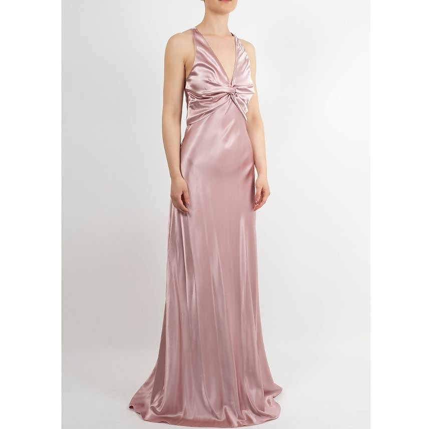 Satin Fever Corsetted Gown