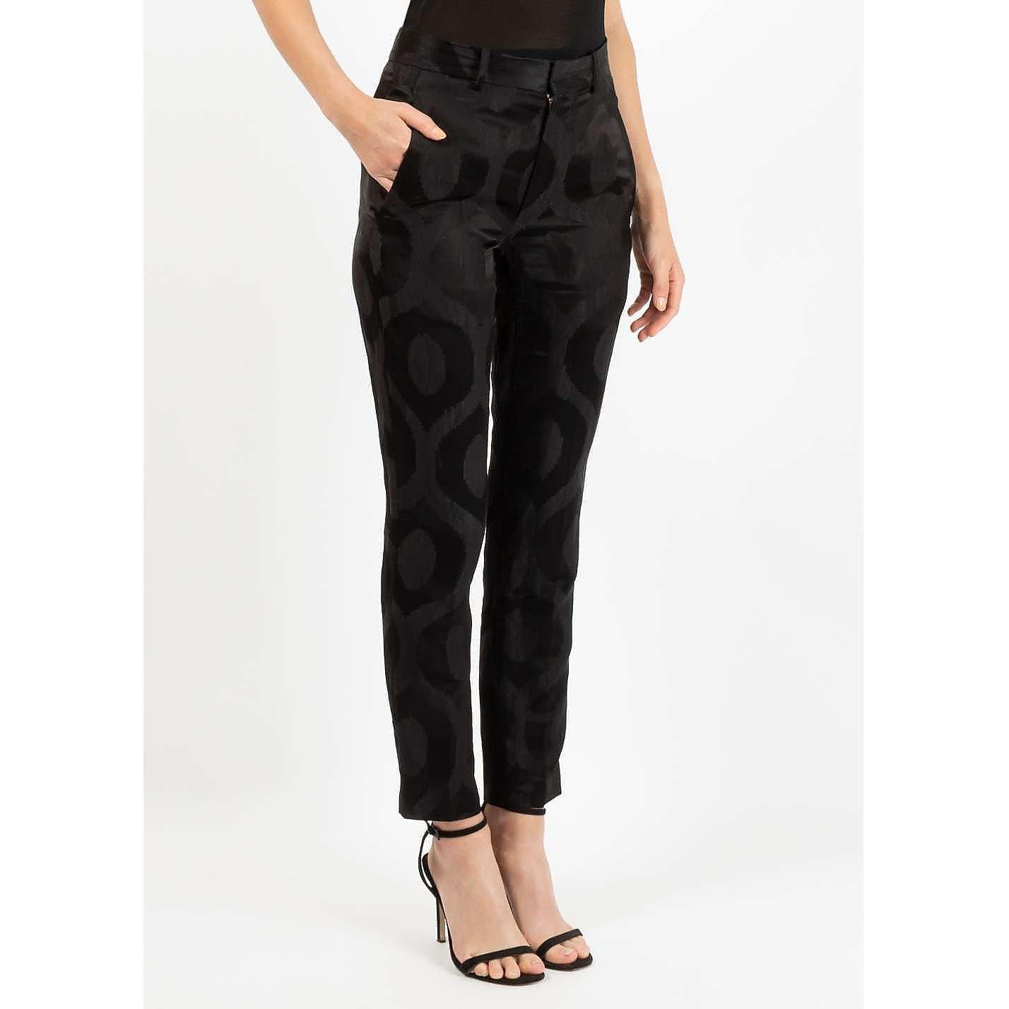 Isabel Marant Printed Silk Trousers