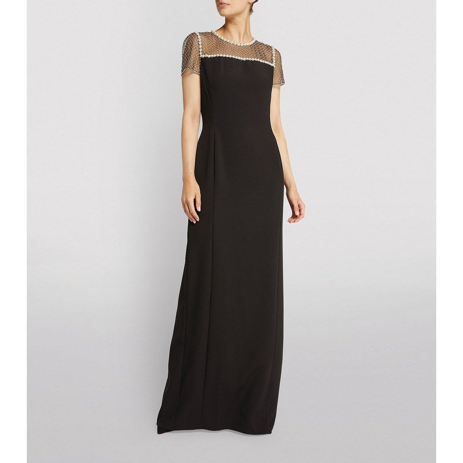 Jenny Packham Pearl-Embellished Adele Gown