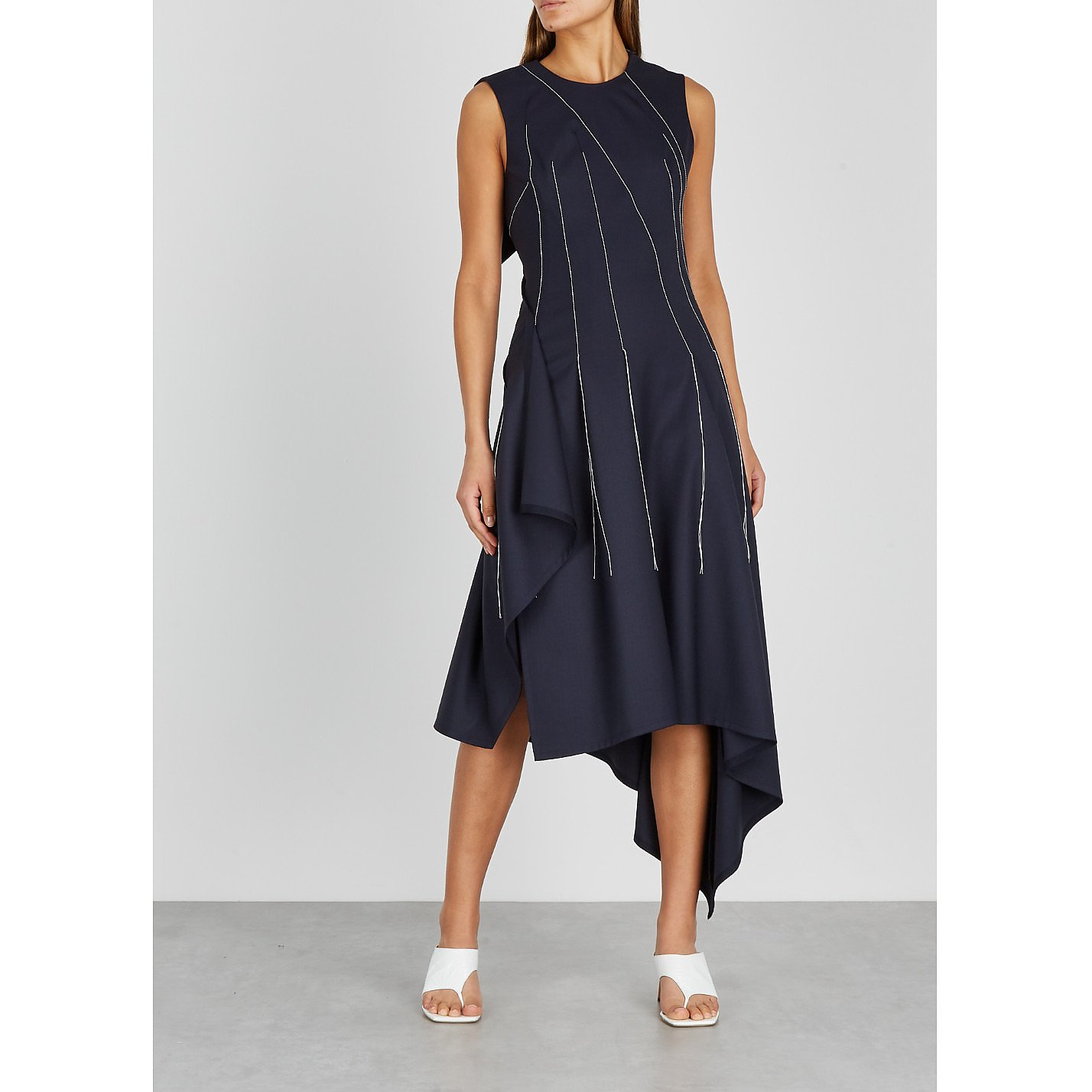 MONSE Falling Threads Dress