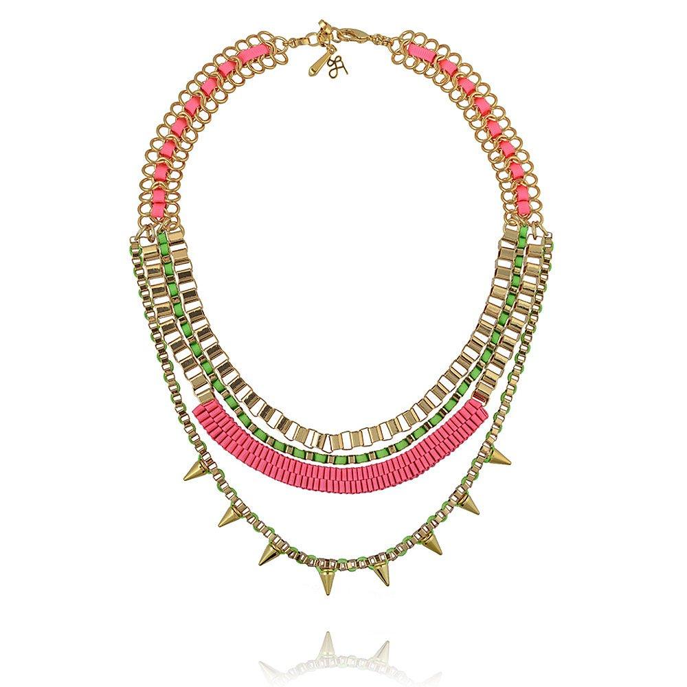 John & Pearl Long Triple Necklace