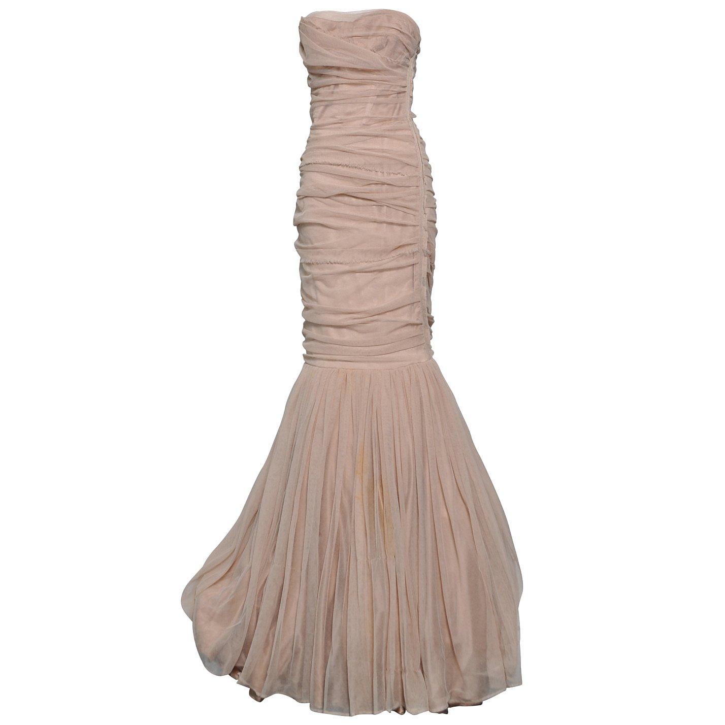 DOLCE & GABBANA Bandage Mermaid Dress