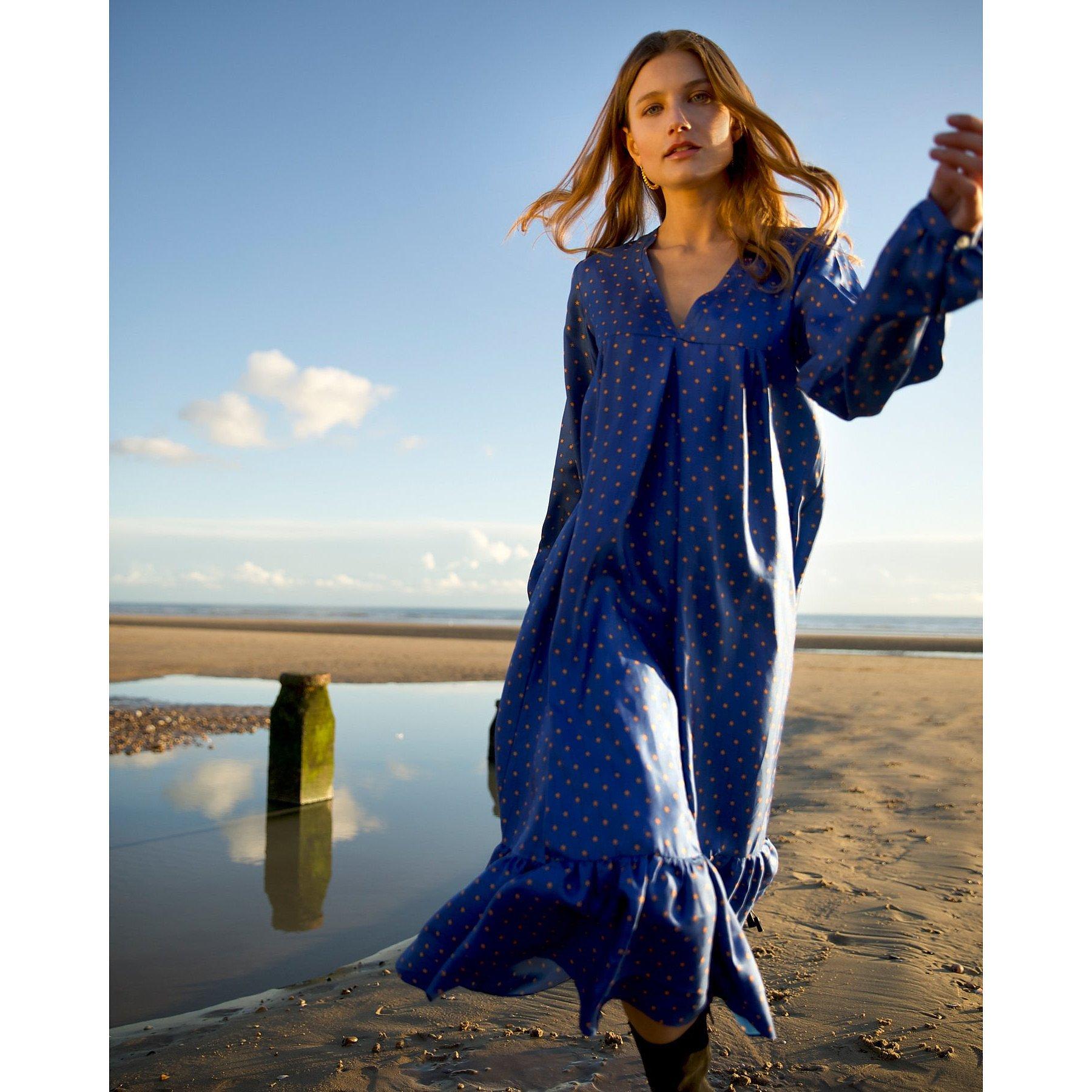 Lisou Star Print Maxi Dress