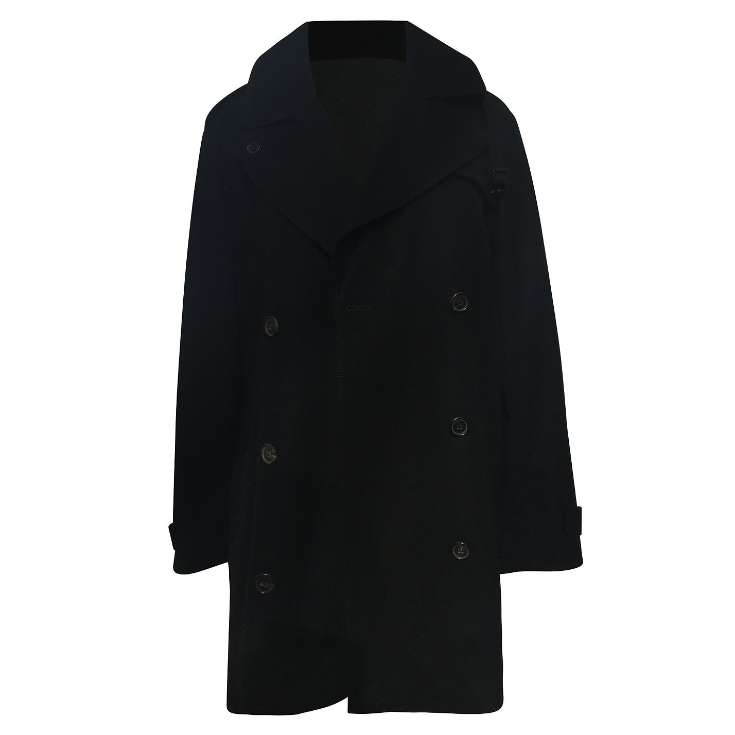 Chloé Double Breasted Buckle Coat