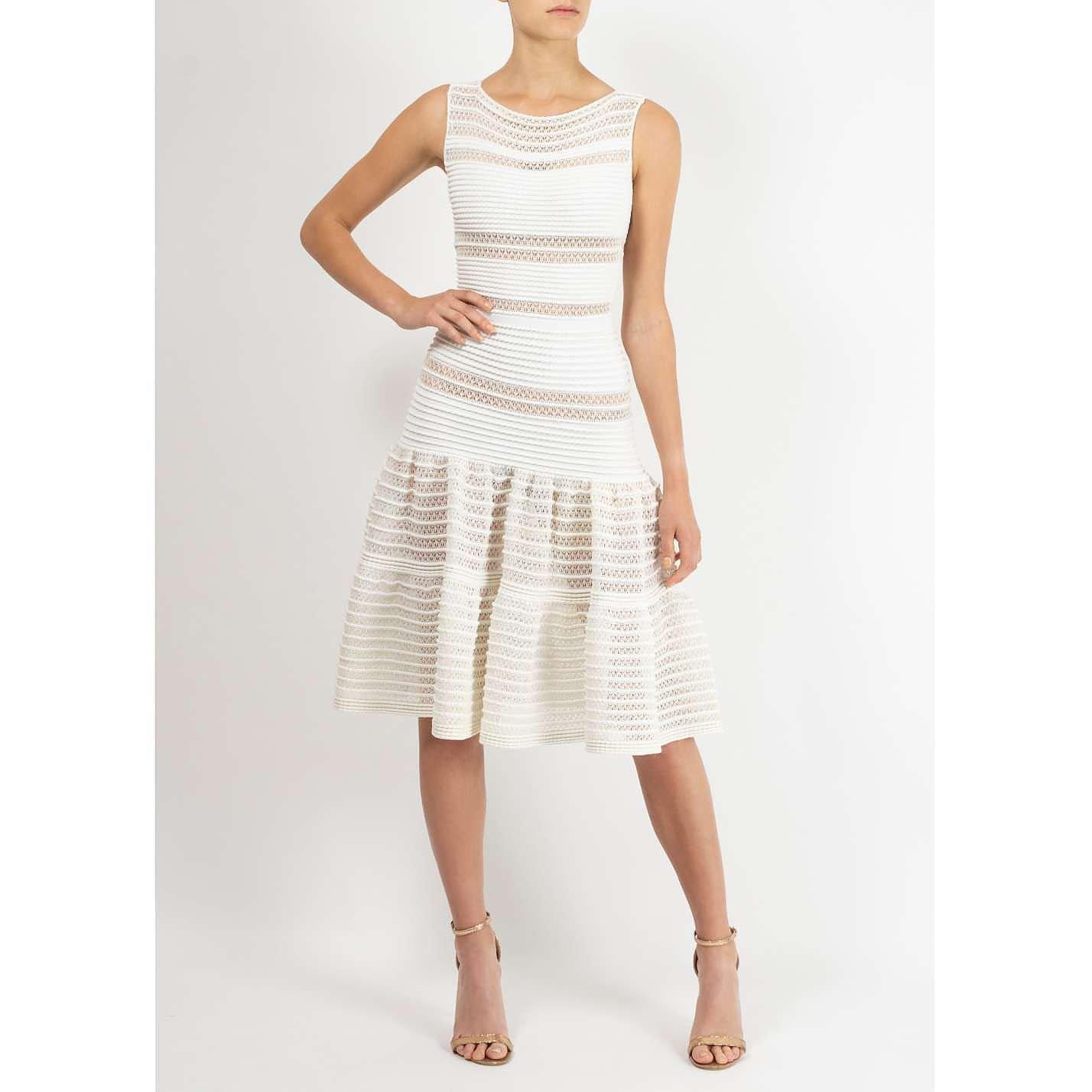 Alaïa Ribbed Midi Dress
