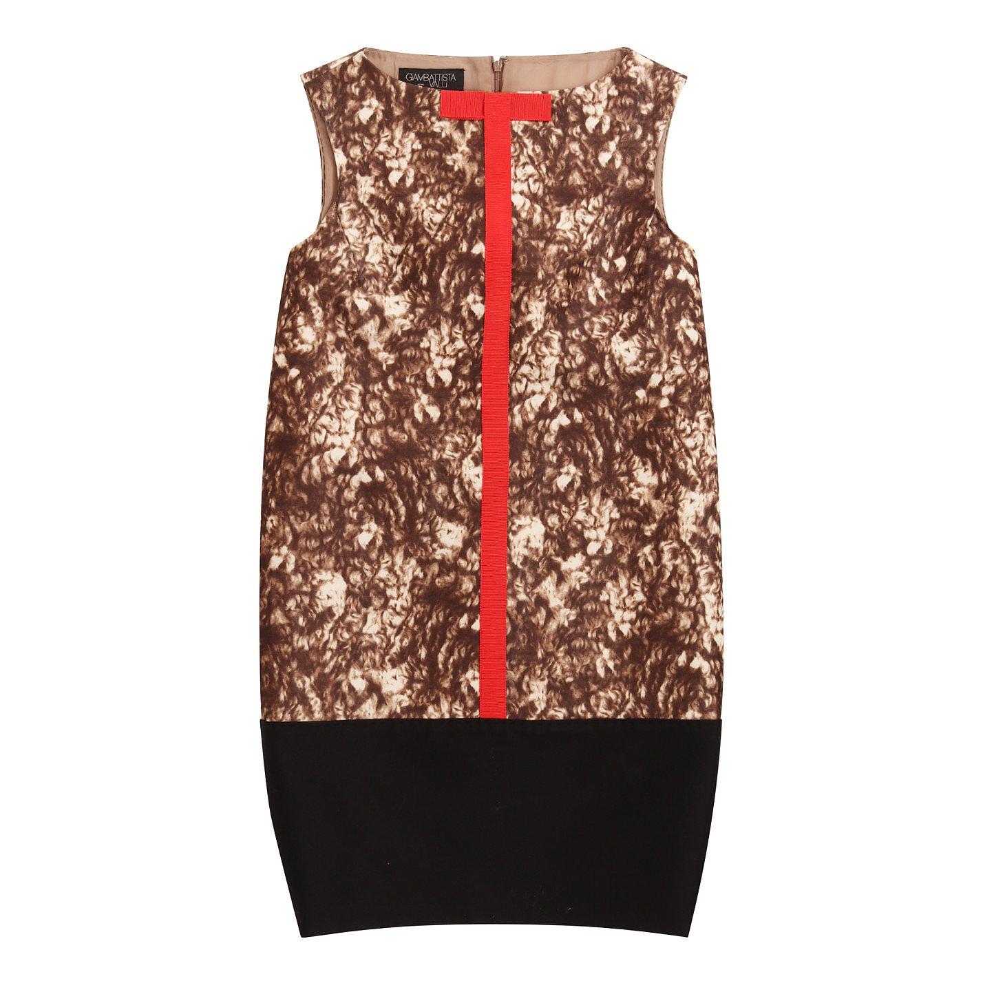 Giambattista Valli Sleeveless Printed Shift Dress