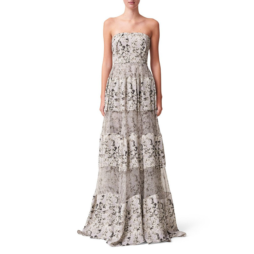 Noon By Noor Dion Strapless Gown