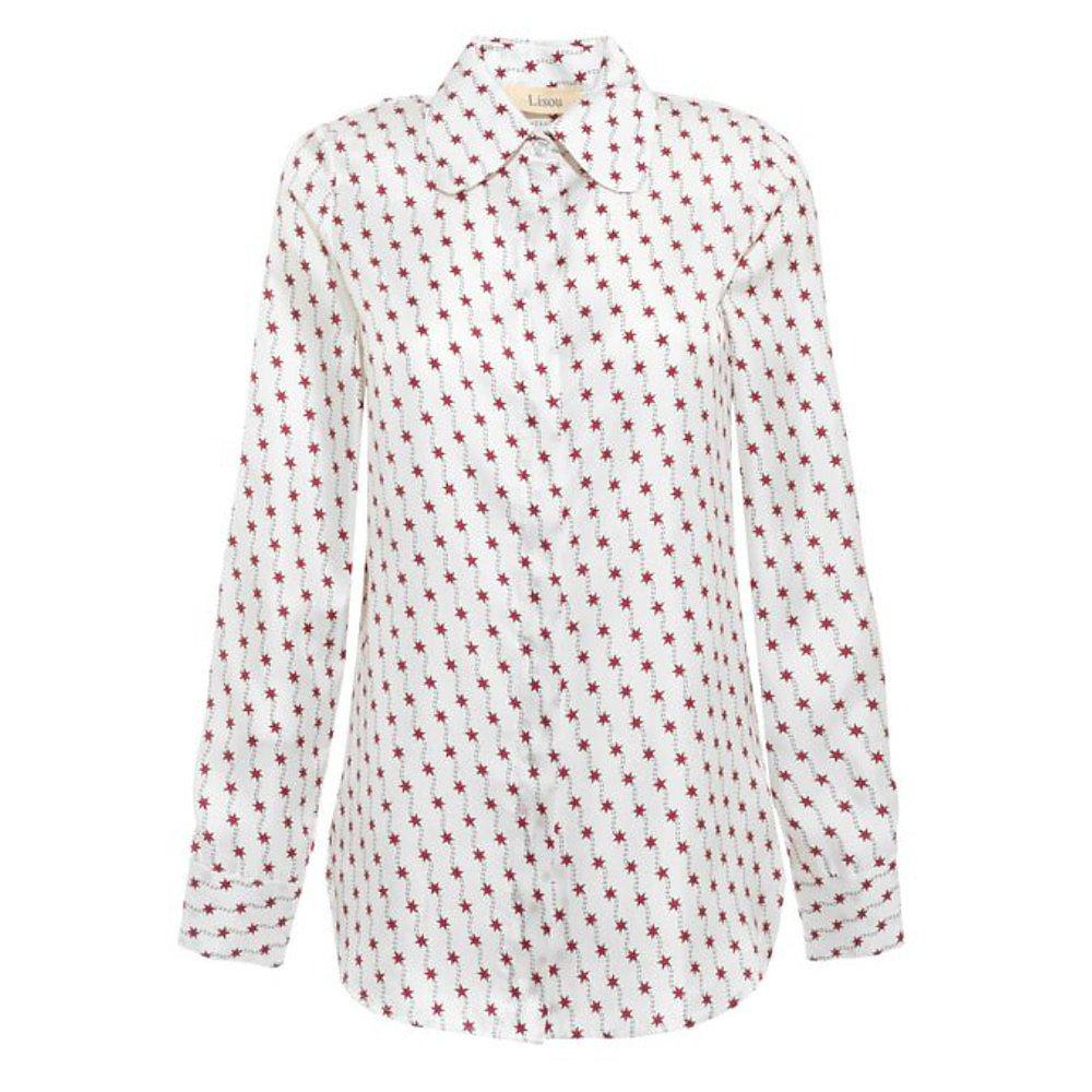 Lisou Bailey Silk Star Print Silk Shirt