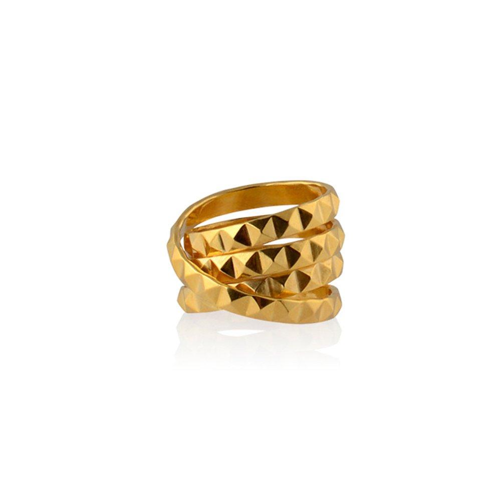 Daisy Knights Molly Stud Wrap Ring