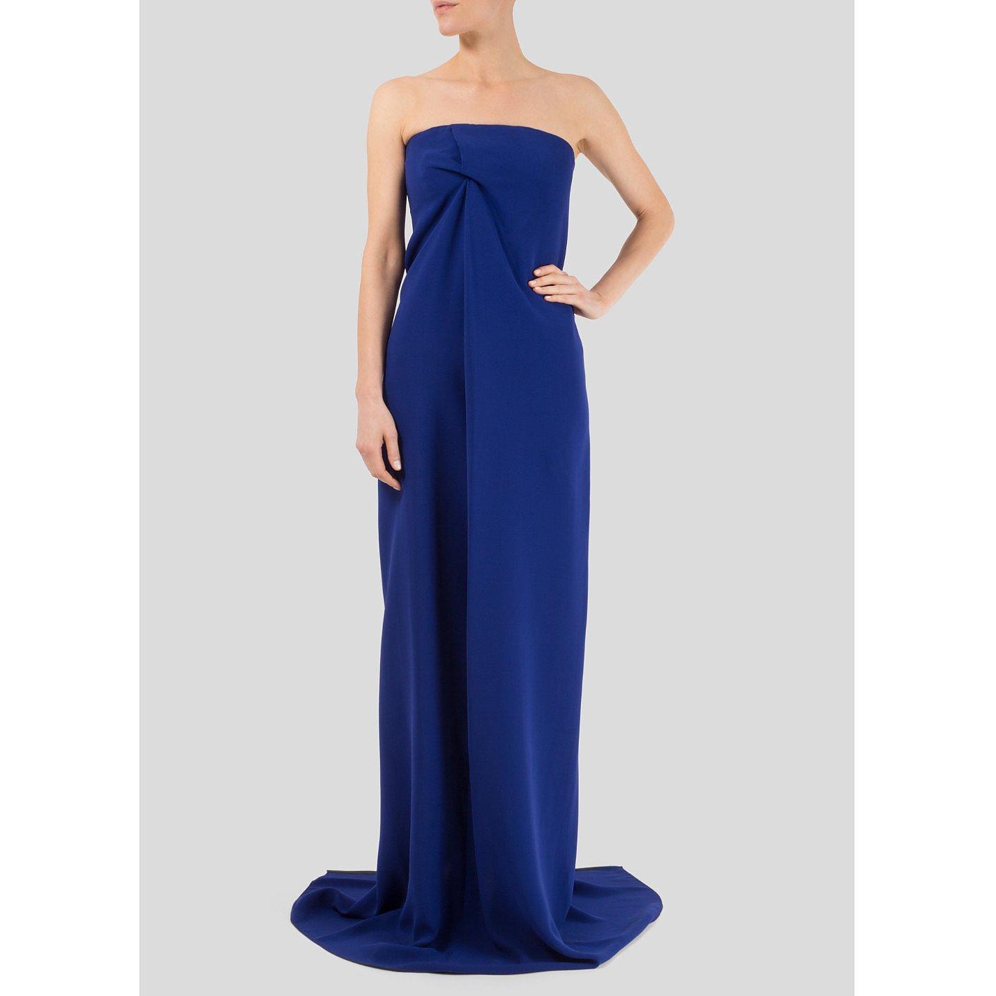 Victoria Beckham Strapless Gown