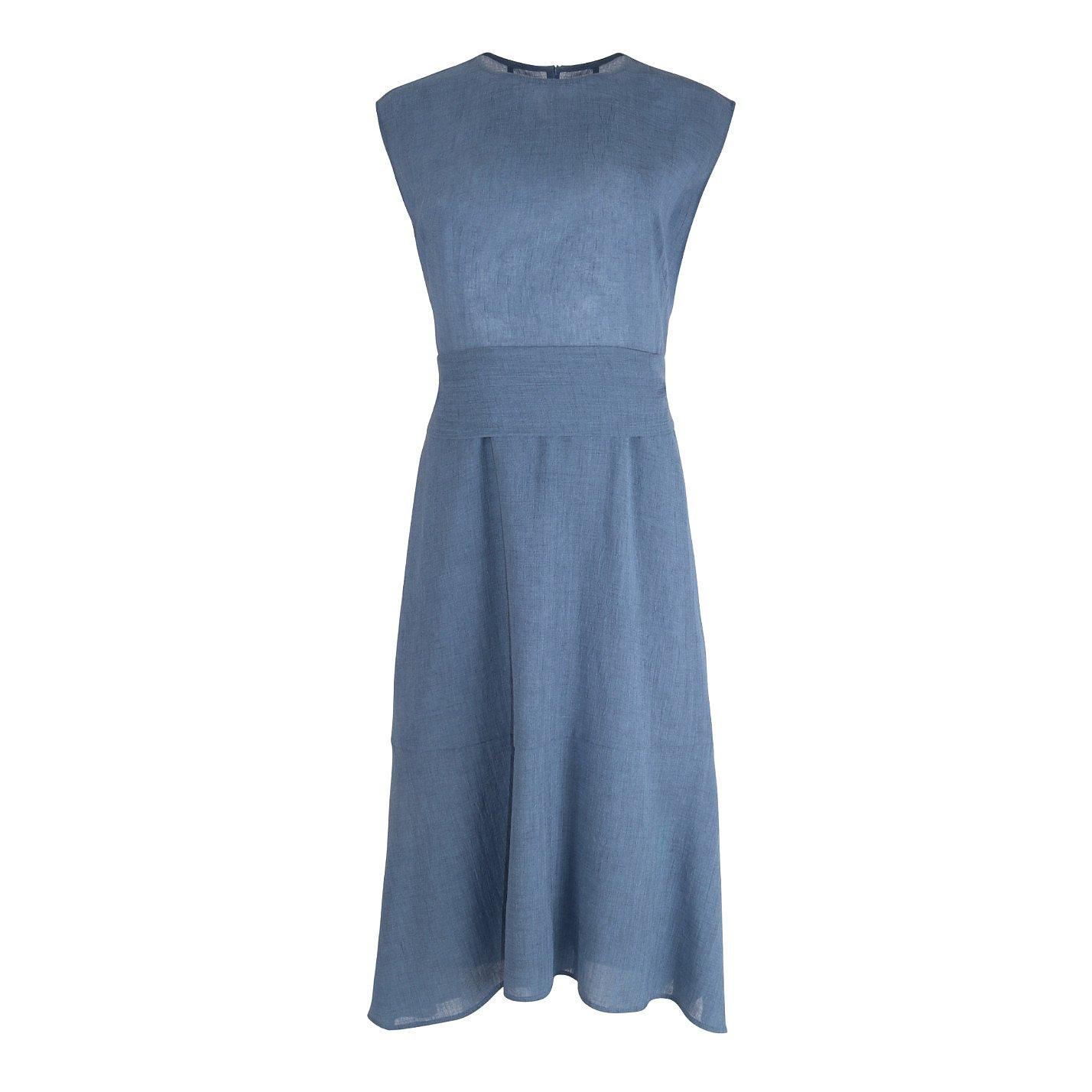 Cefinn Grosgrain Midi Dress