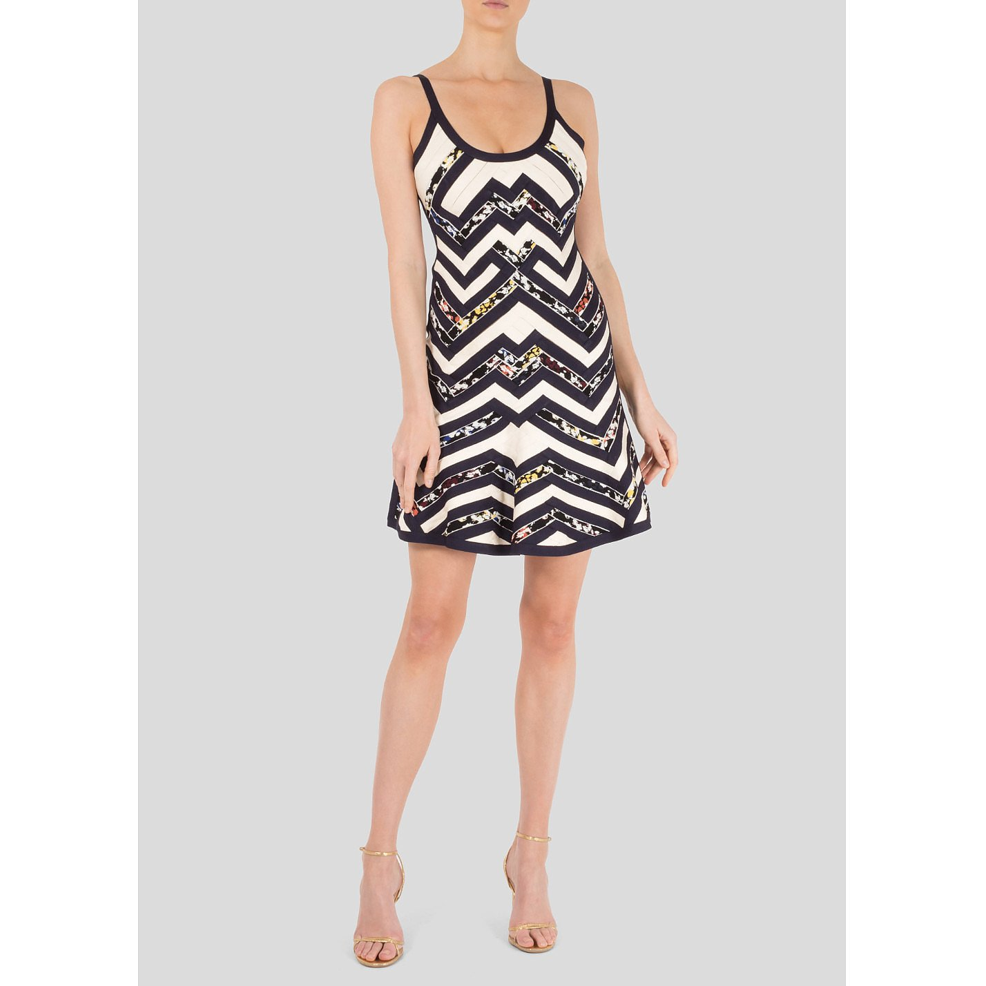 Herve Leger Zig-Zag Dress