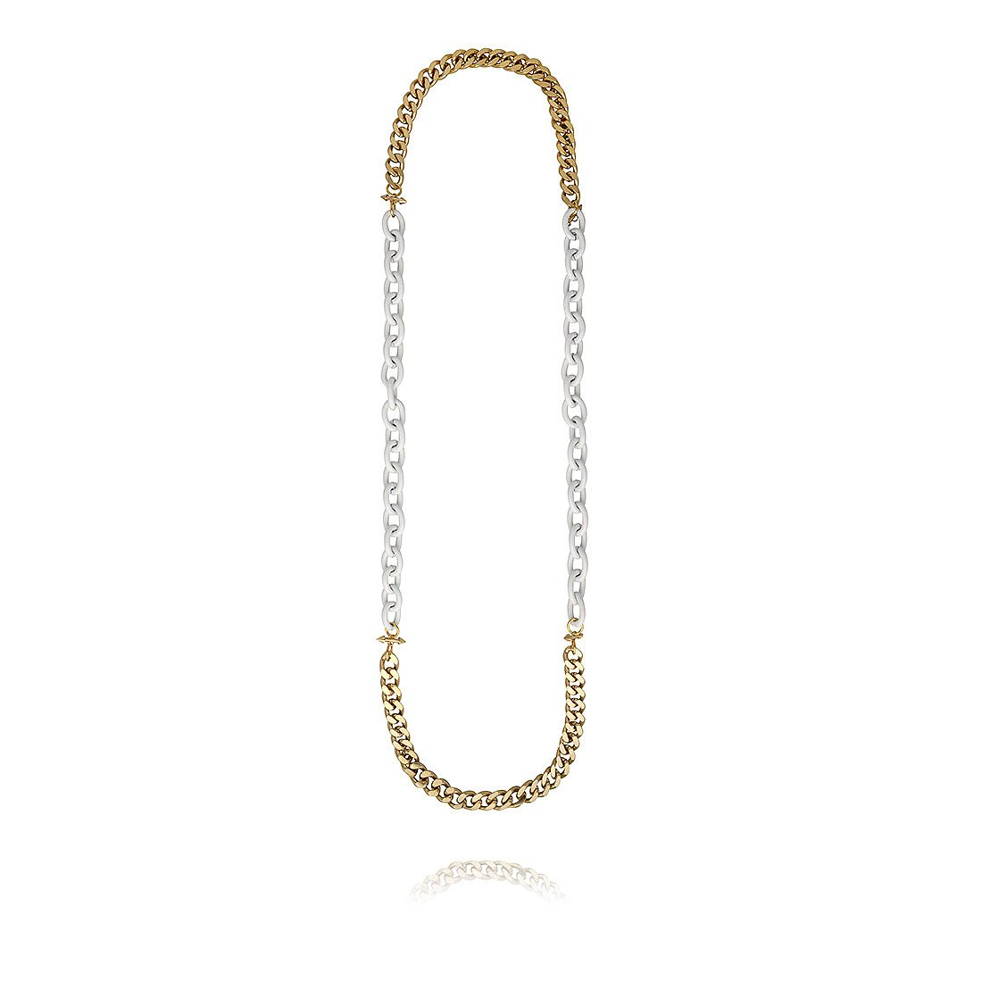 Fenton Lacquered Chain Necklace