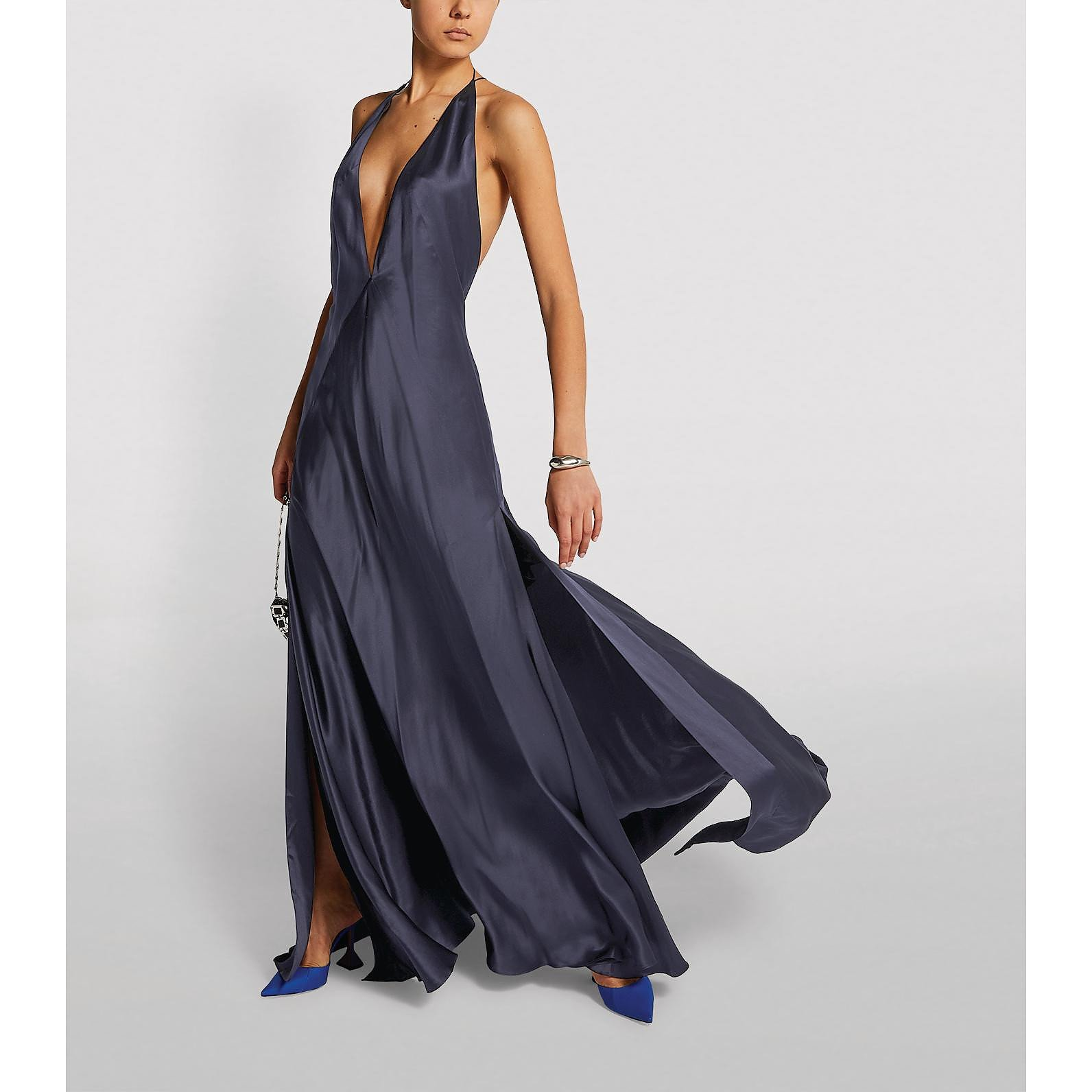 Michael Lo Sordo Alexandra Silk Gown