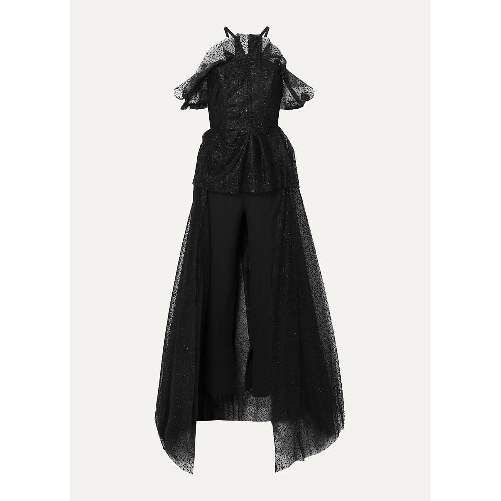 Roland Mouret Kendray Tulle Jumpsuit