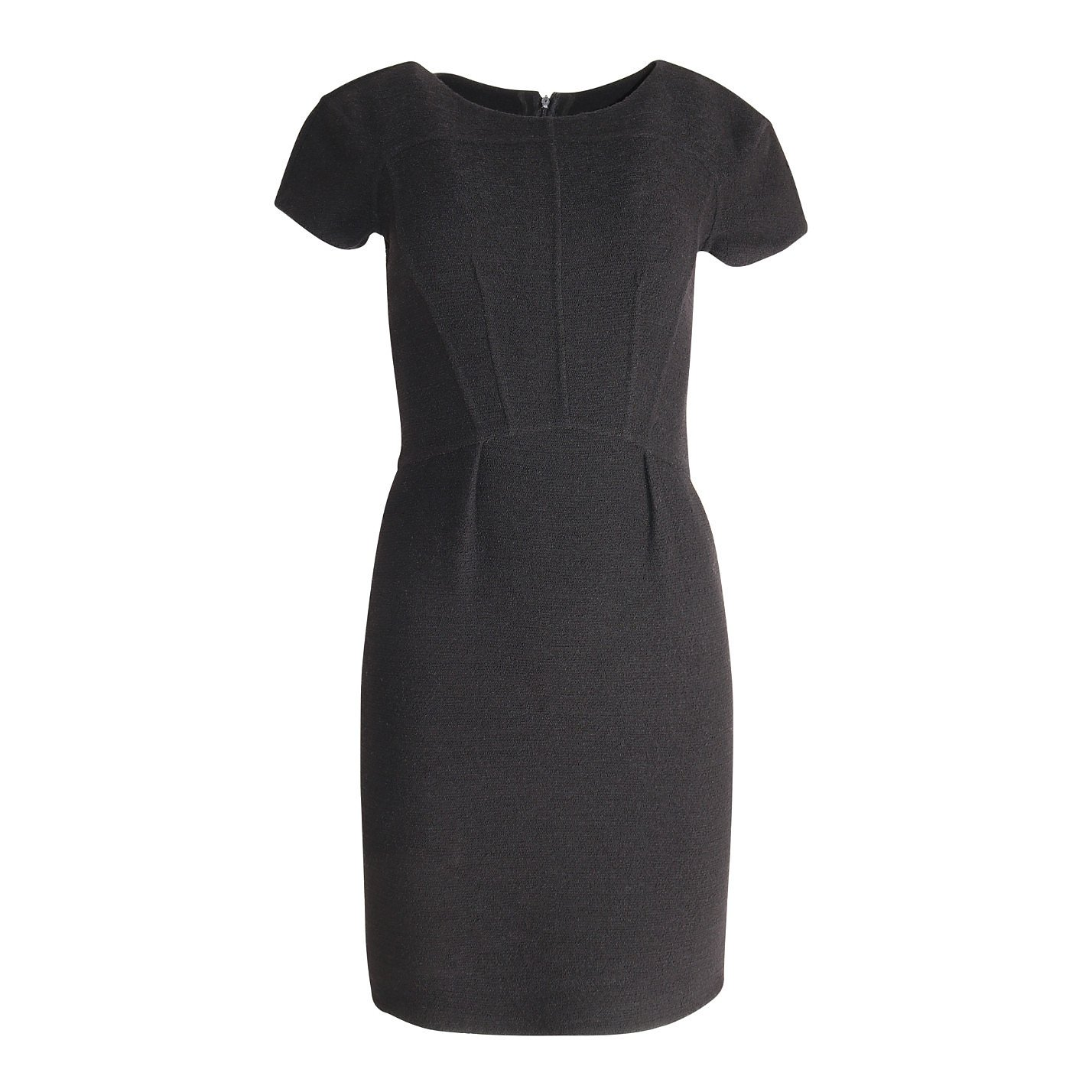 Oscar De La Renta Fitted Wool Mini Dress