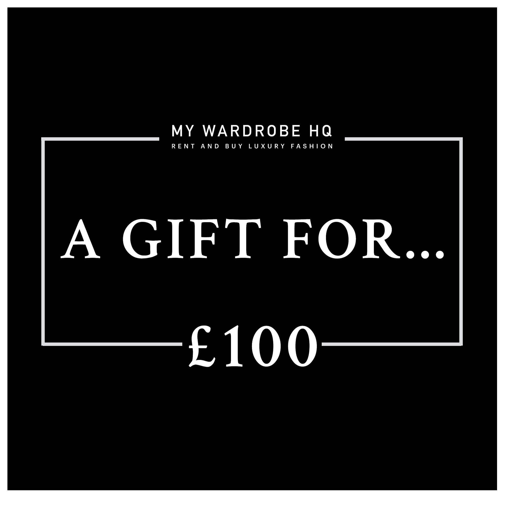Voucher £100 gift voucher
