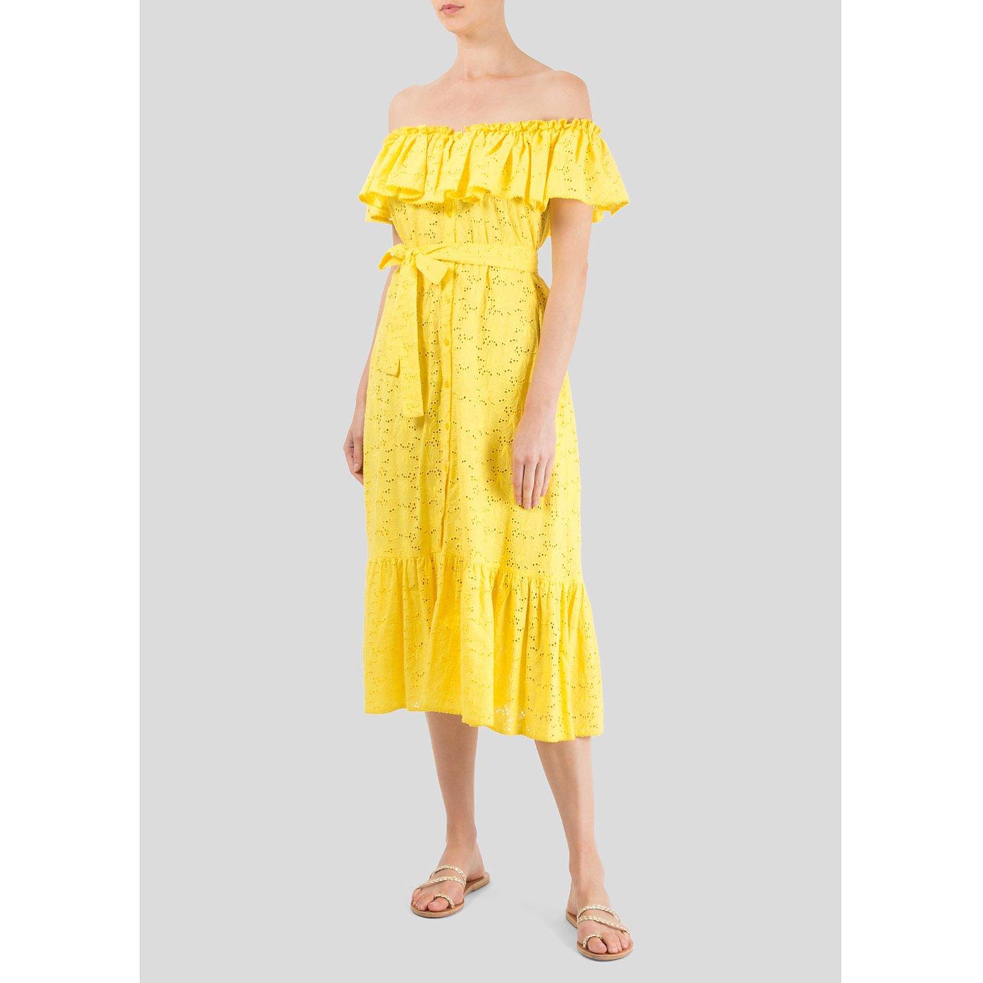 Lisa Marie Fernandez Off Shoulder Sun Dress
