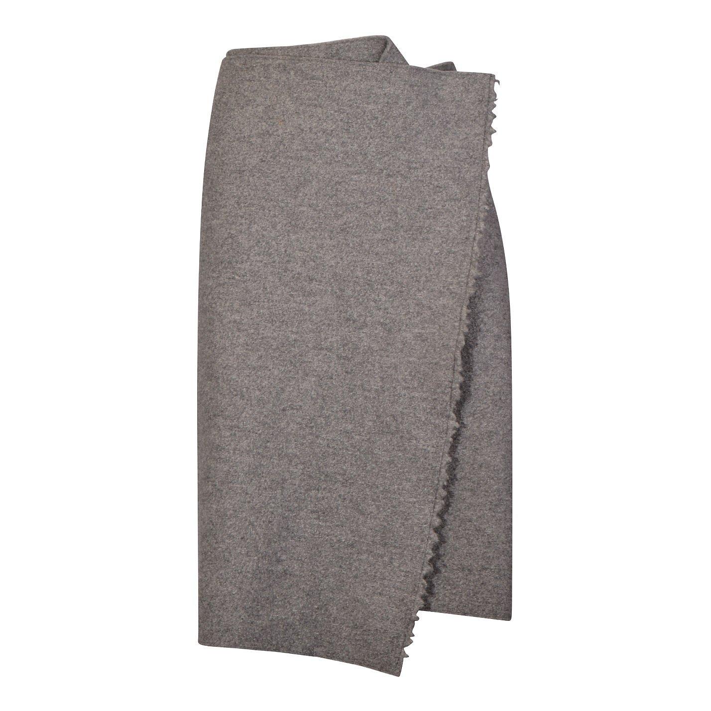 CÉLINE Wrap-Effect Wool Skirt