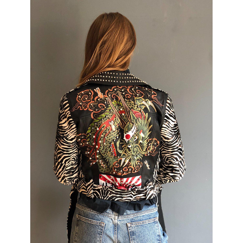 One Vintage Bless The Holi Jacket