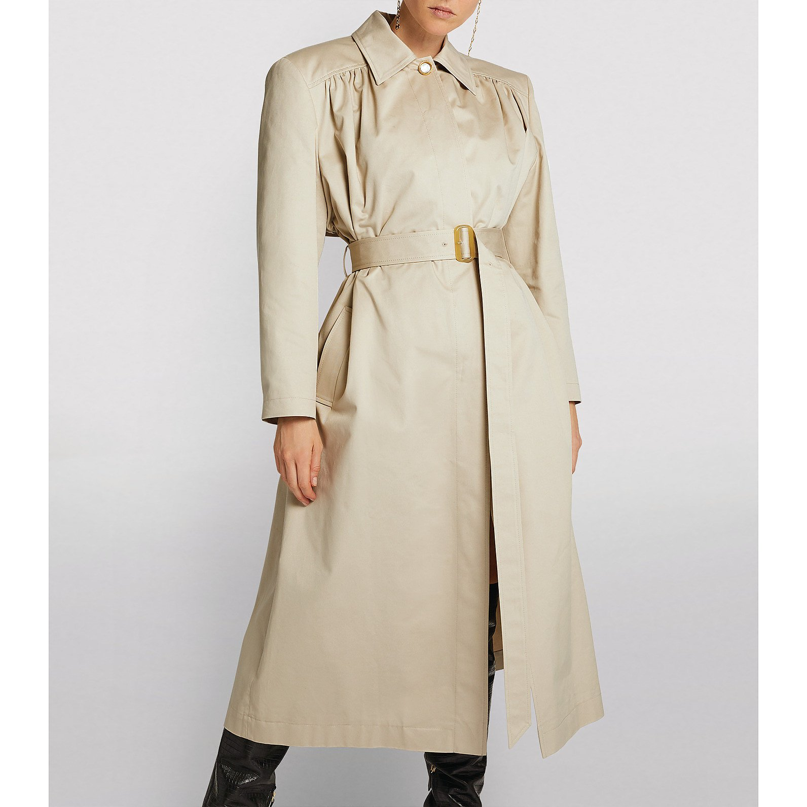 Magda Butrym Belted Trench Coat
