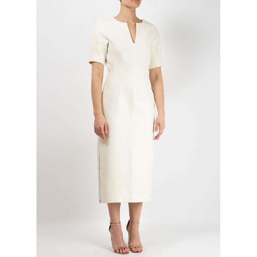 Ellery Fitted Midi Dress
