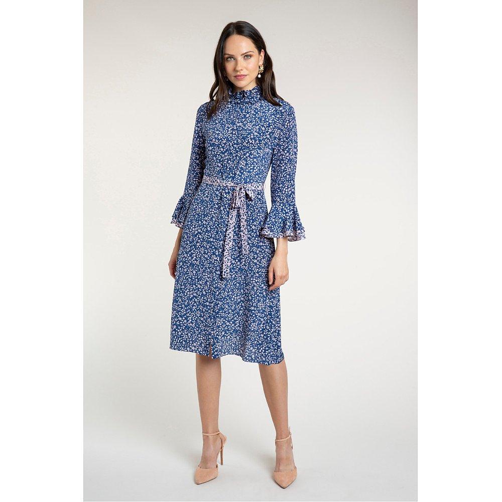 Beulah Maia Sprig Floral Shirt Dress