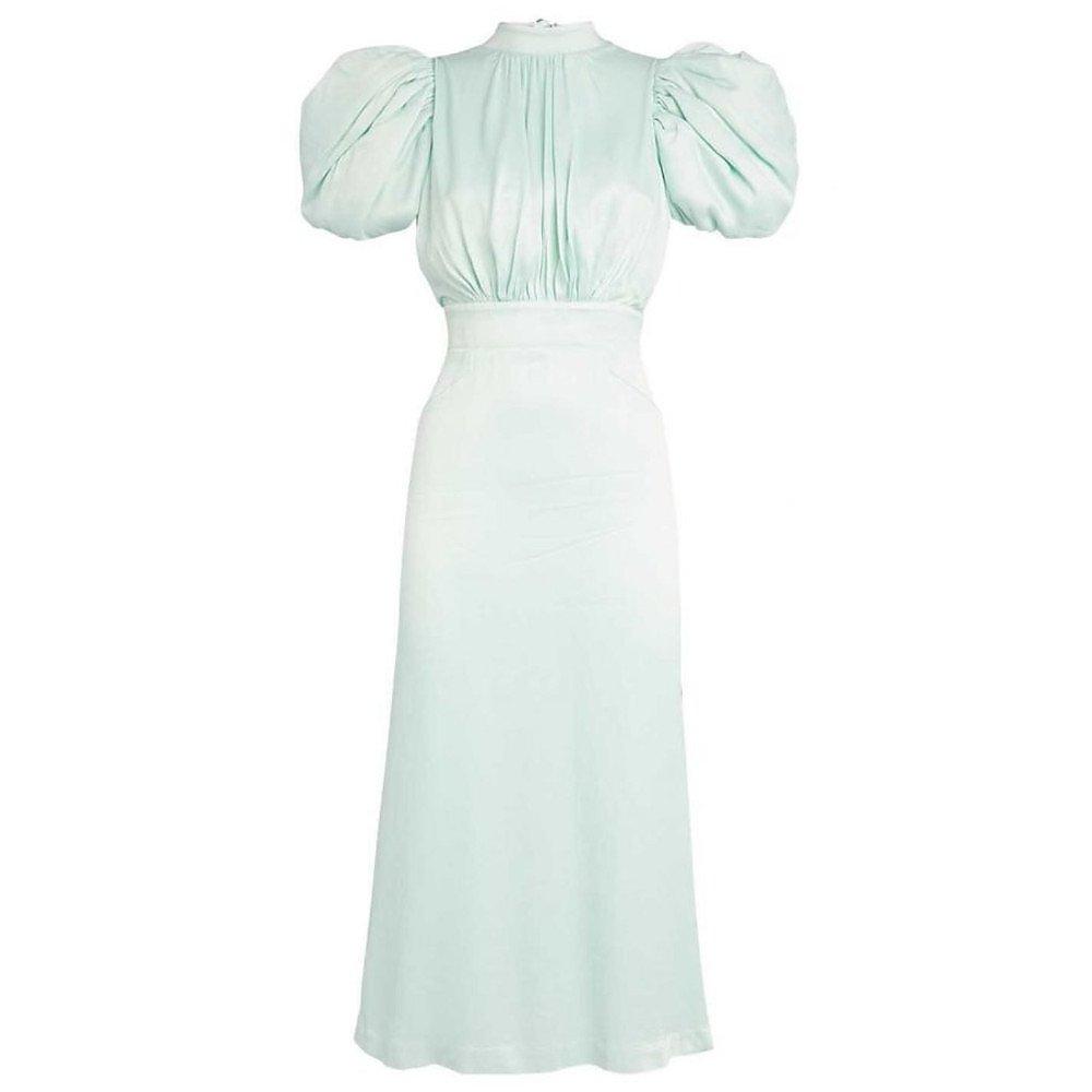 ROTATE Birger Christensen Dawn Midi Dress