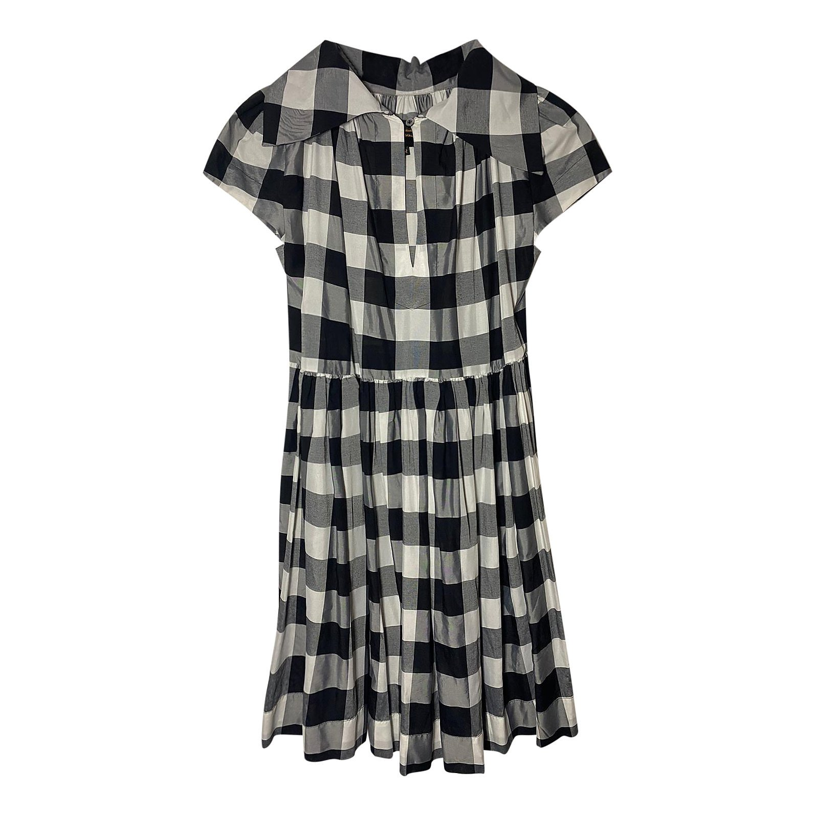 Vivienne Westwood Check Shirt Dress