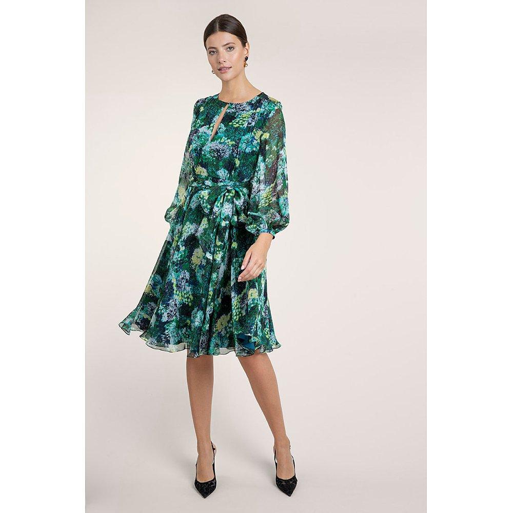 Beulah Nandita Forest Painterly Dress