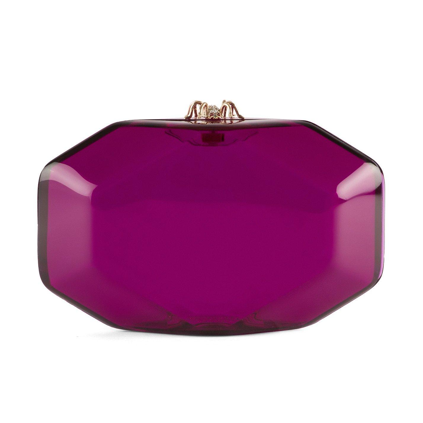 Charlotte Olympia Octagon Clutch Bag