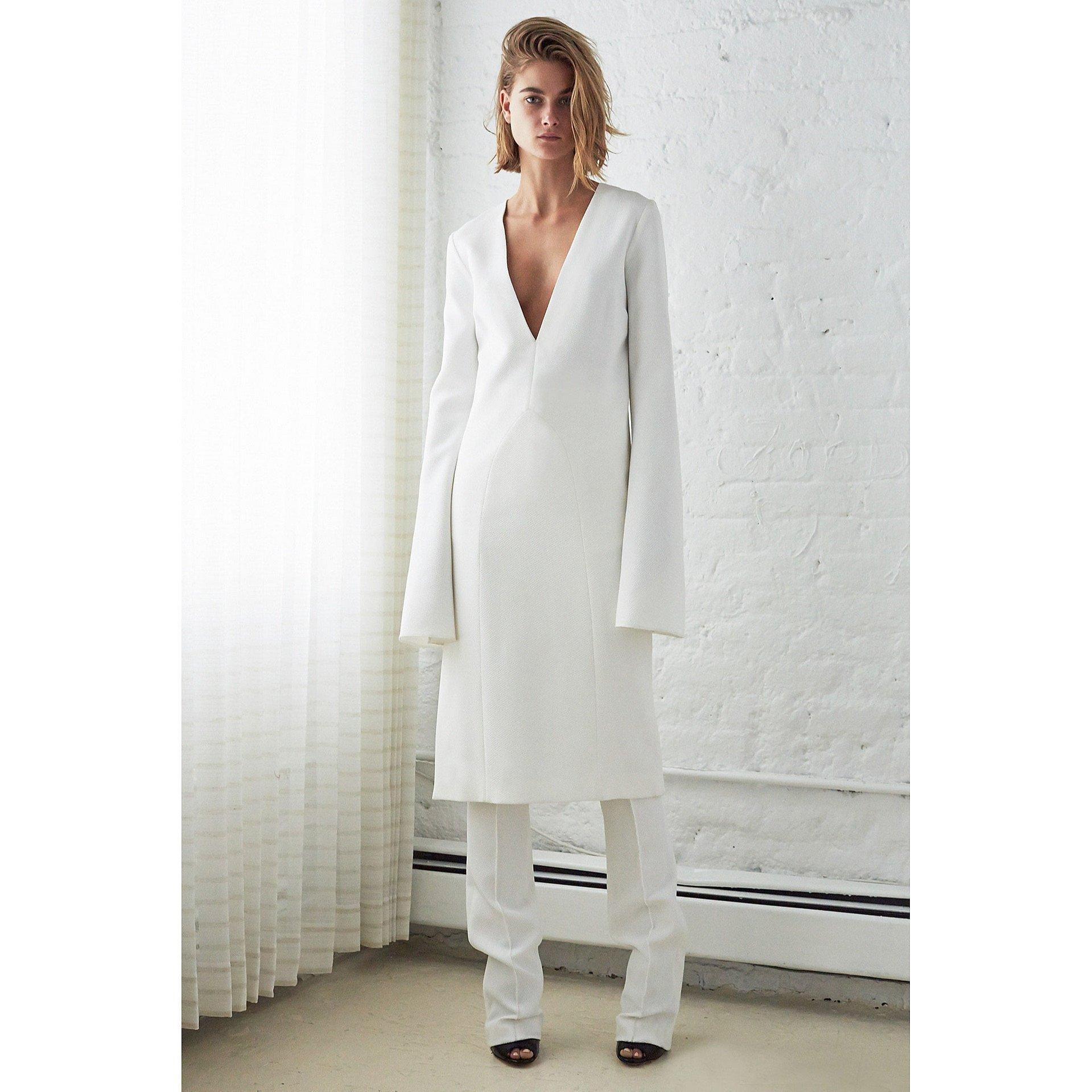 Ellery Textured Midi Dress
